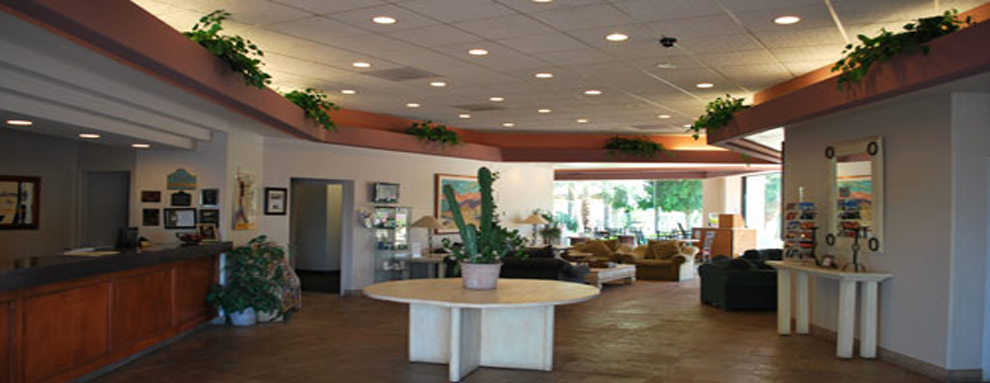 Windemere Hotel In Mesa Arizona Exterior Lobby